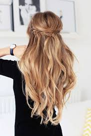 Frisuren Lange Haare Offen Tragen by Die Besten 25 Frisuren Halboffen Ideen Auf Haare
