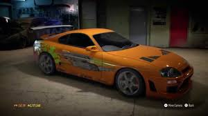 toyota fast car need for speed 2015 top 5 the best fast and furious cars on