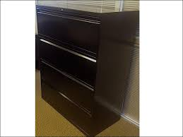 Hon 4 Drawer Lateral File Cabinet Steelcase 4 Drawer 36 Wide Lateral File Cabinets Black Used