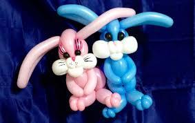 adorable easter bunnies balloon twisting youtube