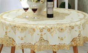 elastic plastic table covers rectangle outstanding cheap gold pvc material plastic lace tablecloth china