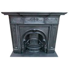 cs107 original victorian cast iron fire surround with quality
