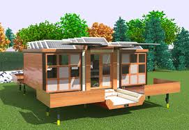 flat pack homes unboxed surprisingly spacious flat pack house on wheels