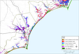 Map Of North Carolina Cities Sea Level Rise Planning Maps Likelihood Of Shore Protection In