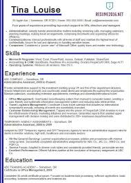 Government Resume Template Completed Resume Examples Resume Example And Free Resume Maker