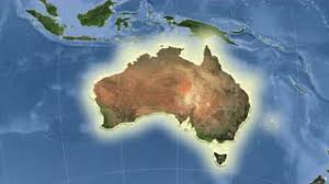 australia satellite map australia on the satellite map outlined and glowed motion