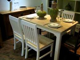 bathroom glamorous shabby chic table and chairs dining set for