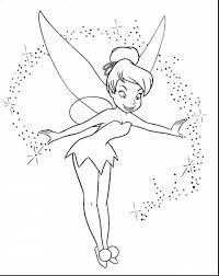 incredible tinkerbell fairy coloring pages with fairy tail