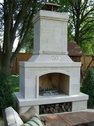Stone Fireplace Kits Outdoor - 48
