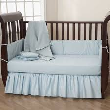 Crib Bedding Blue American Baby Company Bedding Sets Solid Blue 5 Baby Crib