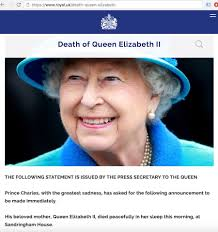 Queen Elizabeth Donald Trump Buckingham Palace Retract Queen Elizabeth Death Announcement