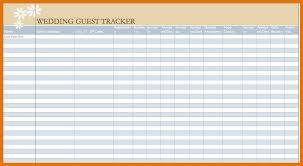 Wedding Guest List Excel Template 7 Wedding Guest List Template Excel Itinerary Template Sle