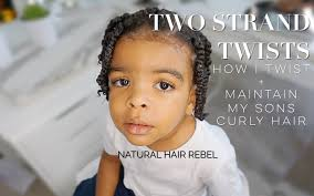 natural hairstyle for kids u2022 two strand twists on boys hair