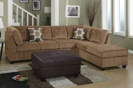 Gray Microfiber Sectional Sofa by Brown Microfiber Sectional Sofa Leather Sectional Sofa