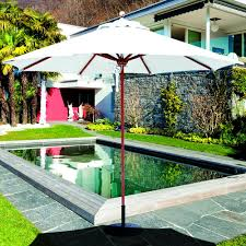 Galtech Replacement Canopy by Galtech 9 Ft Octagonal Hardwood Patio Market Umbrella W Pulley