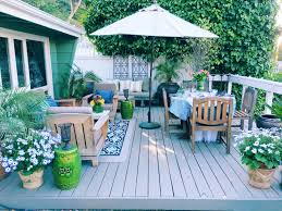 spring outdoor entertaining island inspired table