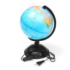 excellent led world map world globe rotating swivel map of earth