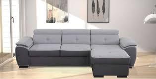 canapé d angle convertible gris anthracite canapé d angle convertible et réversible 4 places malta pas cher