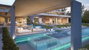 wood interior design in beach house architecture world modern