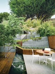 small courtyard designs patio contemporary with swan chairs 134 best outdoor areas images on landscaping
