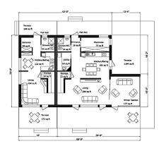 modern style house plan 5 beds 5 00 baths 3956 sq ft plan 549 5