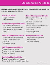 Free Independent Living Skills Worksheets Life Skills Checklists For Kids And Teens Life Skills Child And