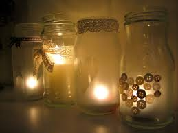 Mason Jar Tea Light Holder Diy Tutorial Frosted Jar Tealight Holders Boho Weddings For The