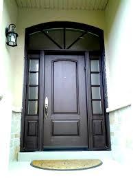 Custom Fiberglass Doors Exterior Custom Fiberglass Door And Sidelights With Simulated Grills On