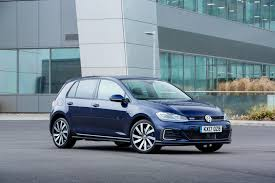 blue volkswagen 2017 volkswagen golf gte put through its paces video