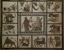 els treballs d u0027hèrcules mosaic de llíria hercules labour and