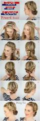 10 easy hairstyles for bangs to get them out of your face easy