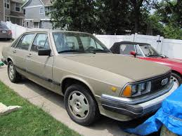 audi 5000 for sale 1983 audi 5000 turbo gas running w many spare parts for sale