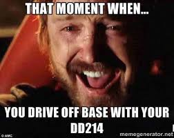 D D Memes - 13 memes showing how it feels to get your dd 214 we are the mighty