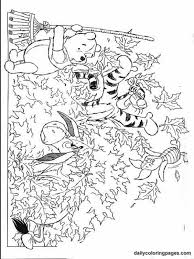autumn coloring pages winnie pooh fall coloring pages 03