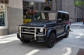used amg mercedes 2015 mercedes g class g63 amg stock 30499 for sale near