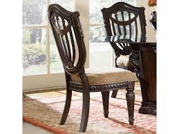 Fairmont Designs Furniture Fairmont Designs Grand Estates Wood Back Side Chair W Upholstered