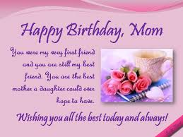 funny happy birthday mom wish wish all the best to mom from