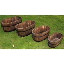 wooden planter box plans free