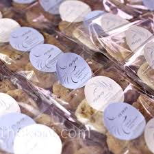 Cookie Favors by The Couples Mothers Made Their Favorite Cookies Scandanavian