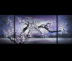 Feng Shui Painting Lovely Cute And Trendy Cherry Blossom Room Decor Xpressionportal