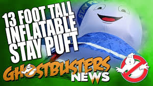 ghost busters halloween ghostbusters halloween countdown 13 foot tall stay puft