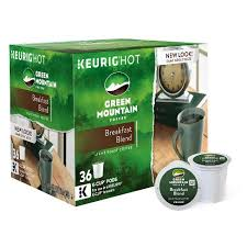 light roast k cups green mountain breakfast blend light roast coffee k cup pods