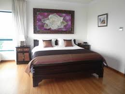 Modern Houseplants by Modern Bedroom With Green Color Of Wall Interior Decor Also Has