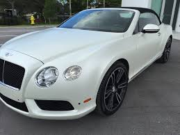 white wrapped cars bentley pearl white matte vinyl wrap inked vinyl