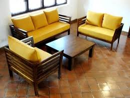 Best  Wooden Sofa Ideas On Pinterest Wooden Couch Asian - Home decor sofa designs