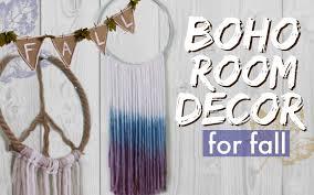 Easy Diy Room Decor Diy Boho Room Decor For Fall Easy U0026 Inexpensive Youtube