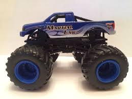 jam monster truck martial law plastic base monster jam monster truck 1 64 hotwheels