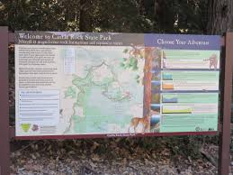 Castle Rock State Park Map by Portola And Castle Rock Foundation Castle Rock Projects Portola