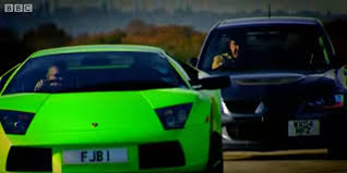 lamborghini replica vs real remember when top gear compared a mitsubishi evo to a lamborghini