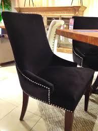 Dining Room Sets Houston Tx A Beautiful Black Studded Dining Room Chair Houston Tx